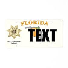 Florida Police Officer Custom License Plate