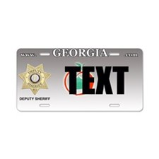 Georgia Deputy Sheriff Custom License Plate
