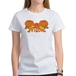Halloween Pumpkin Willow Women's T-Shirt