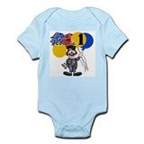 Circus 1st Birthday Infant Creeper