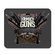 Family Guns Mousepad