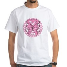 Butterfly Ribbon Breast Cancer Shirt
