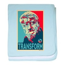 Transform - Wolfman for President 2012 baby blanke
