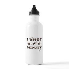I Shot the Deputy Water Bottle