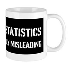 47% OF ALL STATISTICS Coffee Mug