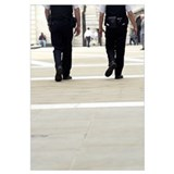Police officers patrolling