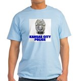 Kansas City Police Ash Grey T-Shirt