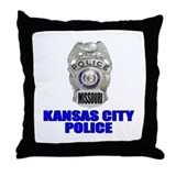 Kansas City Police Throw Pillow