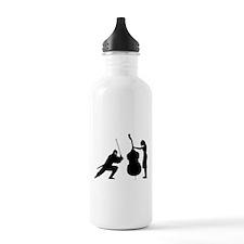 Double Bass Ninja Water Bottle