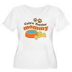 Cairn Terrier Mommy Women's Plus Size Scoop Neck T
