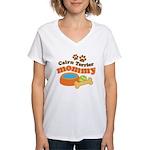Cairn Terrier Mommy Women's V-Neck T-Shirt