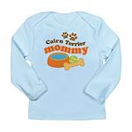 Cairn Terrier Mommy Long Sleeve Infant T-Shirt