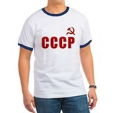 Retro Soviet CCCP Ash Grey T-Shirt T-Shirt