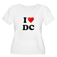 I Heart Love Washington DC - DC.png T-Shirt