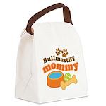 Bullmastiff Mommy Canvas Lunch Bag