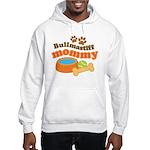 Bullmastiff Mommy Hooded Sweatshirt