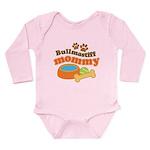 Bullmastiff Mommy Long Sleeve Infant Bodysuit