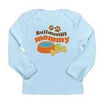 Bullmastiff Mommy Long Sleeve Infant T-Shirt