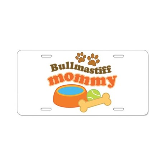 Bullmastiff Mommy Aluminum License Plate