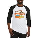 Bullmastiff Mommy Baseball Jersey