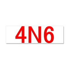 4N6 Car Magnet 10 x 3