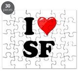 I Heart Love SF San Francisco.png Puzzle