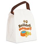 Bulldog Mommy Canvas Lunch Bag