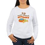 German Shepherd Mommy Women's Long Sleeve T-Shirt