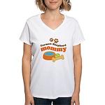 German Shepherd Mommy Women's V-Neck T-Shirt