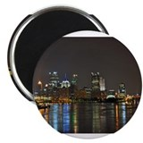 Downtown Pittsburgh Illuminated 3 Magnet