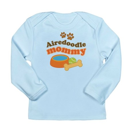 Airedoodle Mommy Long Sleeve Infant T-Shirt