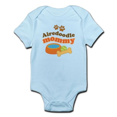 Airedoodle Mommy Infant Bodysuit