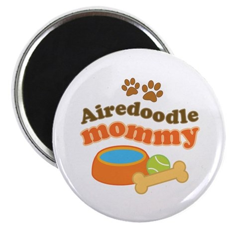 Airedoodle Mommy Magnet