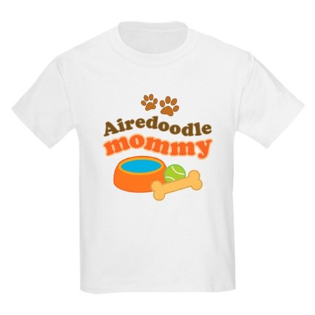 Airedoodle Mommy Kids Light T-Shirt