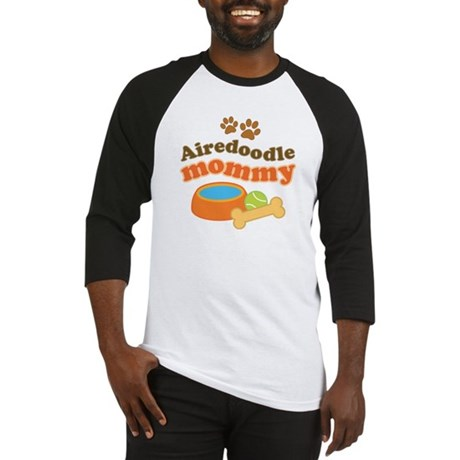 Airedoodle Mommy Baseball Jersey