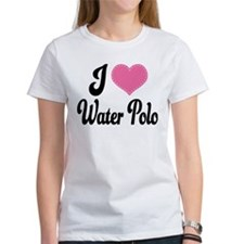 I Love Water Polo Tee