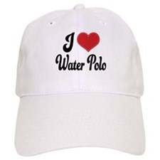 I Love Water Polo Baseball Cap