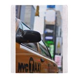 NYC Taxi Throw Blanket