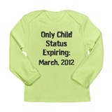 Personalized Big Sibling Long Sleeve Infant T-Shir