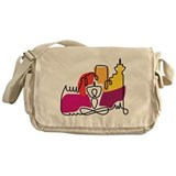 Yoga Town Messenger Bag