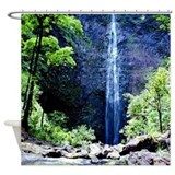 Hanakapiai Falls Kauai Tropical Shower Curtain
