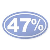 47 Percent Bumper Stickers