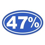 47 Percent Decal
