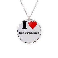 I Heart Love San Francisco.png Necklace