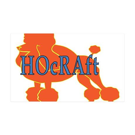 HOcRAft Logo 35x21 Wall Decal