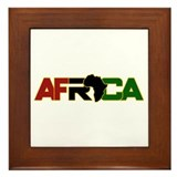 Africa2 Framed Tile