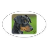Manchester Terrier 9B085D-07_2 Decal