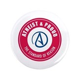 "Atheist Proud 3.5"" Button"