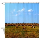 Country Hay Field Shower Curtain
