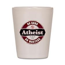 Premium Atheist Logo Shot Glass